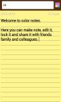 Color Notes Notepad screenshot 1/6