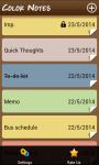 Color Notes Notepad screenshot 2/6
