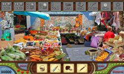 Free Hidden Object Game - Street Market screenshot 3/4