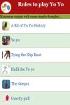 Rules to play Yo Yo screenshot 2/3
