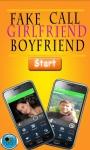 Fake Call Girlfriend/Boy Friend Prank screenshot 1/6