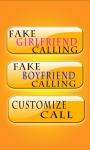 Fake Call Girlfriend/Boy Friend Prank screenshot 2/6