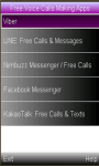 Free Voice  Calling Apps screenshot 1/1