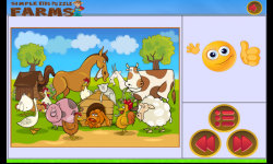 Simple Kids Puzzle - Farms screenshot 5/6