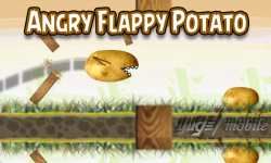 Angry Flappy Potato screenshot 1/4