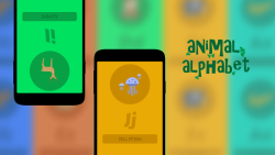 Play Alphabet Animal Cards screenshot 1/3