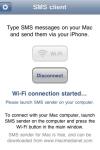 SMS client screenshot 1/1