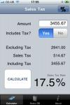 VAT Sales Tax Calculator screenshot 1/1