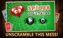 Spider Solitaire Game screenshot 1/3