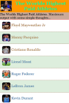 The Worlds Highest Paid Athletes  screenshot 2/3