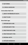 Intermediate Math screenshot 2/6