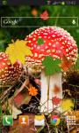 Autumn Leaves Mushroom Live HD screenshot 2/2