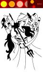 Durga Kali Coloring Book screenshot 3/5
