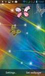 Jewelry butterflies lwp screenshot 2/4
