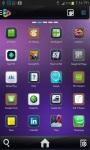 Next 3D Go launcher Ex Theme screenshot 2/3