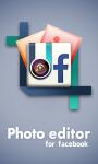 Photo Editor - Snap studio for android screenshot 1/5