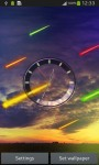 Meteor Clock Live Wallpaper screenshot 1/6