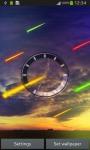 Meteor Clock Live Wallpaper screenshot 2/6