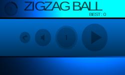 Zig Zag Ball by appronlabs screenshot 2/5