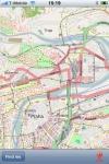 Prague Street Map. screenshot 1/1