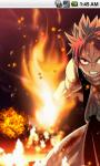 Natsu Dragneel Fairy Tail Live Wallpaper screenshot 2/5