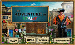 Free Hidden Objects Game - An adventure in Italy screenshot 1/4
