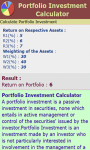 Portfolio Investment Calculator screenshot 3/3