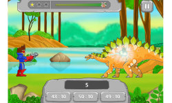 Maths vs Dinosaurs – Cool Educational Math Games screenshot 2/5