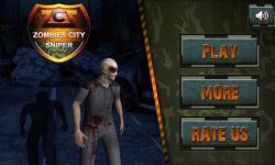 Zombies City Sniper screenshot 1/6