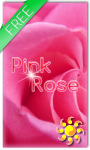 Pink Rose Live Wallpaer screenshot 1/2