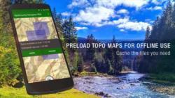 BackCountry Navigator TOPO GPS smart screenshot 2/6