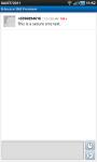 B-Secure SMS screenshot 3/3