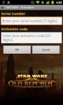 The Old Republic™ Security Key by Electronic Arts Inc screenshot 1/3