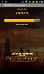 The Old Republic™ Security Key by Electronic Arts Inc screenshot 2/3