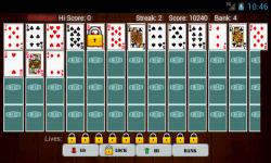 Hi Lo Card Game screenshot 2/5