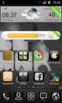 Black Theme Go Launcher screenshot 1/3