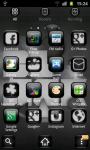 Black Theme Go Launcher screenshot 2/3