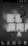Black Theme Go Launcher screenshot 3/3