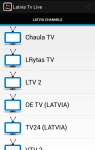 Latvia Tv Live screenshot 1/3