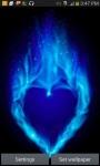 BLUE HEART LWP screenshot 1/3