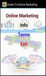 Guide To Online Marketing screenshot 2/3