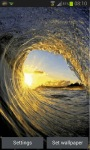Evening Waves Live Wallpaper screenshot 1/3