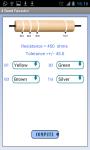 Resistance Color Code Calculator screenshot 2/4