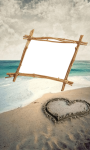 Beach  photo frame images  screenshot 1/4