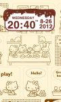 Chocolatecake Clock Widget screenshot 1/2