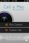Call a Mac screenshot 1/1