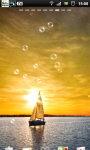 Sailing Sunset Sailboat Live Wallpaper screenshot 4/6