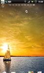 Sailing Sunset Sailboat Live Wallpaper screenshot 5/6