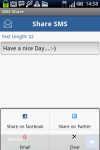 SMS-Share screenshot 2/4
