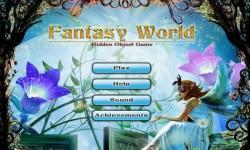 Free Hidden Objects Game - Fantasy World screenshot 1/4
